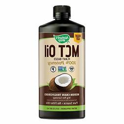100% Potency Pure Source MCT Oil Certified Paleo Vegan Non-G