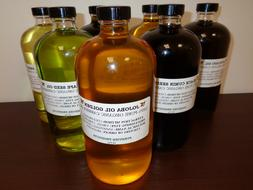 100% Pure Cold Pressed CARRIER OILS Organic Virgin Unrefined