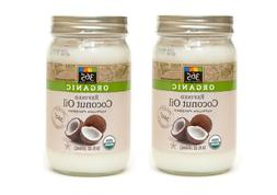 2 PACK - 365 USDA Organic Refined Expeller Pressed Coconut O