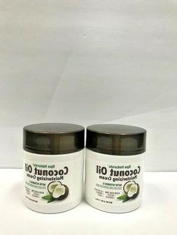 2-SET Coconut Oil Moisturizing Cream Vitamin E for Dry Skin