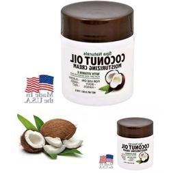 2X Spa Naturals COCONUT OIL MOISTURIZING CREAM Vitamin E for