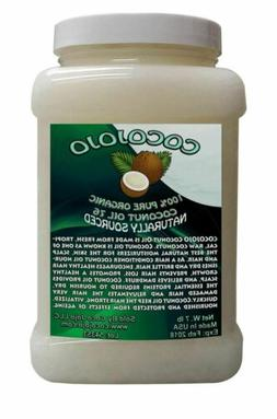 7 LB 1 GALLON 100% PURE 76 RBD COCONUT OIL FULY REFINED, DEO