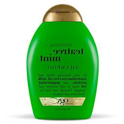 OGX Hydrating TeaTree Mint Shampoo, 13 Ounce Bottle, Moistur