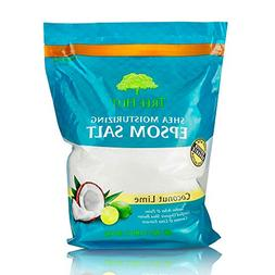 Tree Hut Shea Moisturizing Epsom Salt Coconut Lime, 3Ibs, Ul