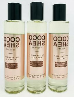 Bath & body works coco shea coconut moisturizing body oil 6.