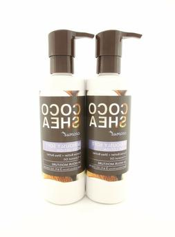 Bath Body Works 2 Coco Shea Coconut Seriously Soft Body Loti
