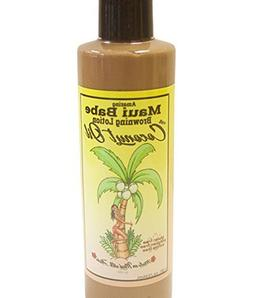 Maui Babe Browning Lotion with Coconut Oil 8 oz