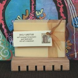 BUTTERLY LOVE Unscented Hemp Butter Soap For Eczema Psoriasi