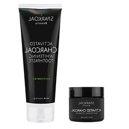 Charcoal Tooth Powder and Charcoal Toothpaste Pack - Teeth W