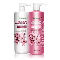 Nature Well Cherry Blossum Moisture Shampoo & Conditioner