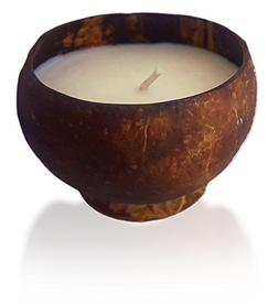 Citronella Essential Oil infused Scented Soy Candle in Cocon