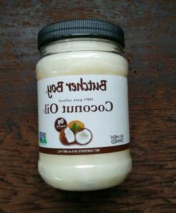 Butcher Boy Coconut Oil 100% Pure Refined Non-GMO Non-Hydrog