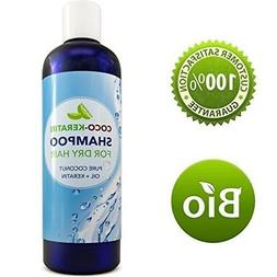 Coconut Oil Shampoo With Keratin For Long Thick Hair Growth