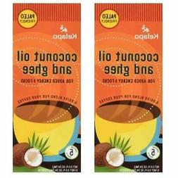 Coconut Oil And Ghee 50/50 Blend Packets, Box  Grocery &amp