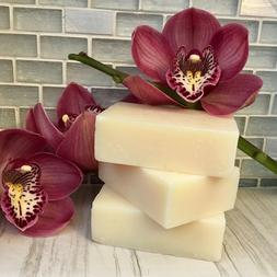 Coconut Oil Bar Soap Handcrafted Organic Natural~Face Body H