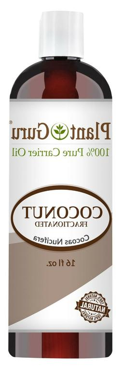 Fractionated Coconut Oil 16 oz. 100% Pure MCT Natural Carrie