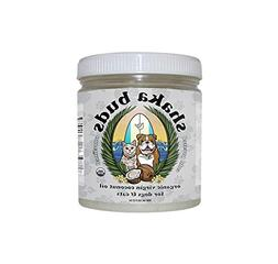 Shaka Buds Coconut Oil for Dogs and Cats  USDA Certified Org