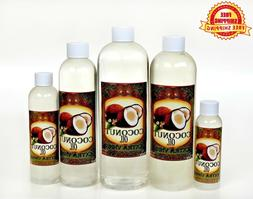 COCONUT OIL EXTRA VIRGIN UNREFINED ORGANIC CARRIER COLD PRES