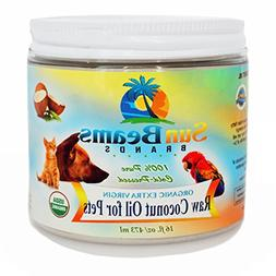 Coconut Oil for Pets Best Premium Quality 100% Pure  Certifi