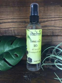 Coconut Oil Hair Treatment Spray Leave In Get Shiny, Stronge