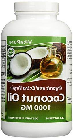 Vita Pure Coconut Oil Weight Loss Diet Supplement