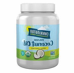Carrington Farms Coconut Oil 100% Organic Extra Virgin 54 Ou