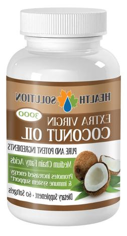 Coconut Oil Pills Improves liver function and digestion. Imm