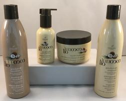 Coconut Oil Revitalizing Shampoo, Conditioner, Masque, Serum
