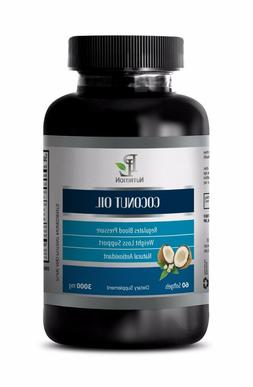 Coconut oil organic - COCONUT OIL 3000 mg - Strengthens your