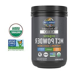 Garden of Life Dr. Formulated Keto Organic MCT Powder - 30 S