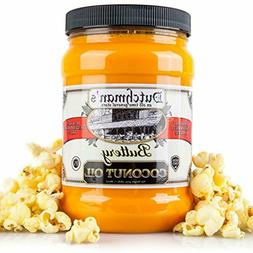 Dutchman's Popcorn Coconut Oil Butter Flavored Oil, Colore