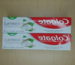 Colgate ESSENTIALS ANTICAVITY TOOTHPASTE with COCONUT OIL CL