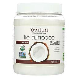 Nutiva Extra Virgin Coconut Oil Organic - 54 fl oz - 95%+ Or