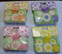 Flower Coconut Oil Soaps in a Cute Package in Pink, Yellow,