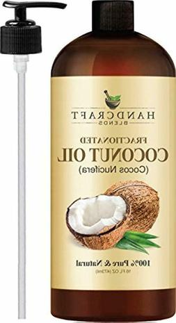 Fractionated Coconut Oil – 100% Pure Natural Premium Thera