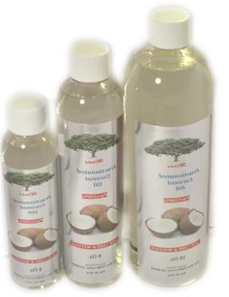 FRACTIONATED  COCONUT OIL 4 Oz. 100% PURE CARRIER OIL FOR SK