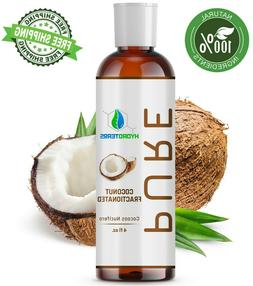 Fractionated Coconut Oil 4 oz 100% Pure Natural For Skin, Ha