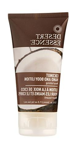 Hand & Body Lotion Coconut -TravelSize Desert Essence 1 oz L