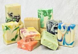 Handmade soap 5 bars pick your scents natural oils and shea