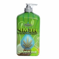 Moist Hemp Coconut Lime Body Moisturizer. 18 fl oz