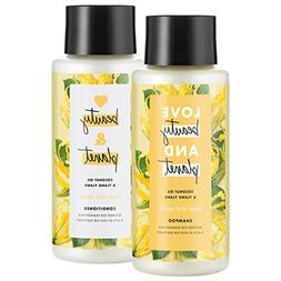 Love Beauty And Planet Shampoo and Conditioner, Coconut Oil