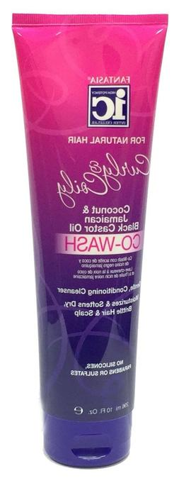 IC Curly & Coily Coconut&Jamaican Black Castor Oil Co-Wash F