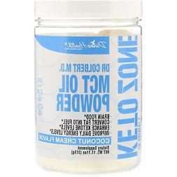 Keto Zone MCT Oil Powder | Coconut Cream Flavor | 30 Day Sup