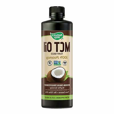 100 percent potency pure source mct oil