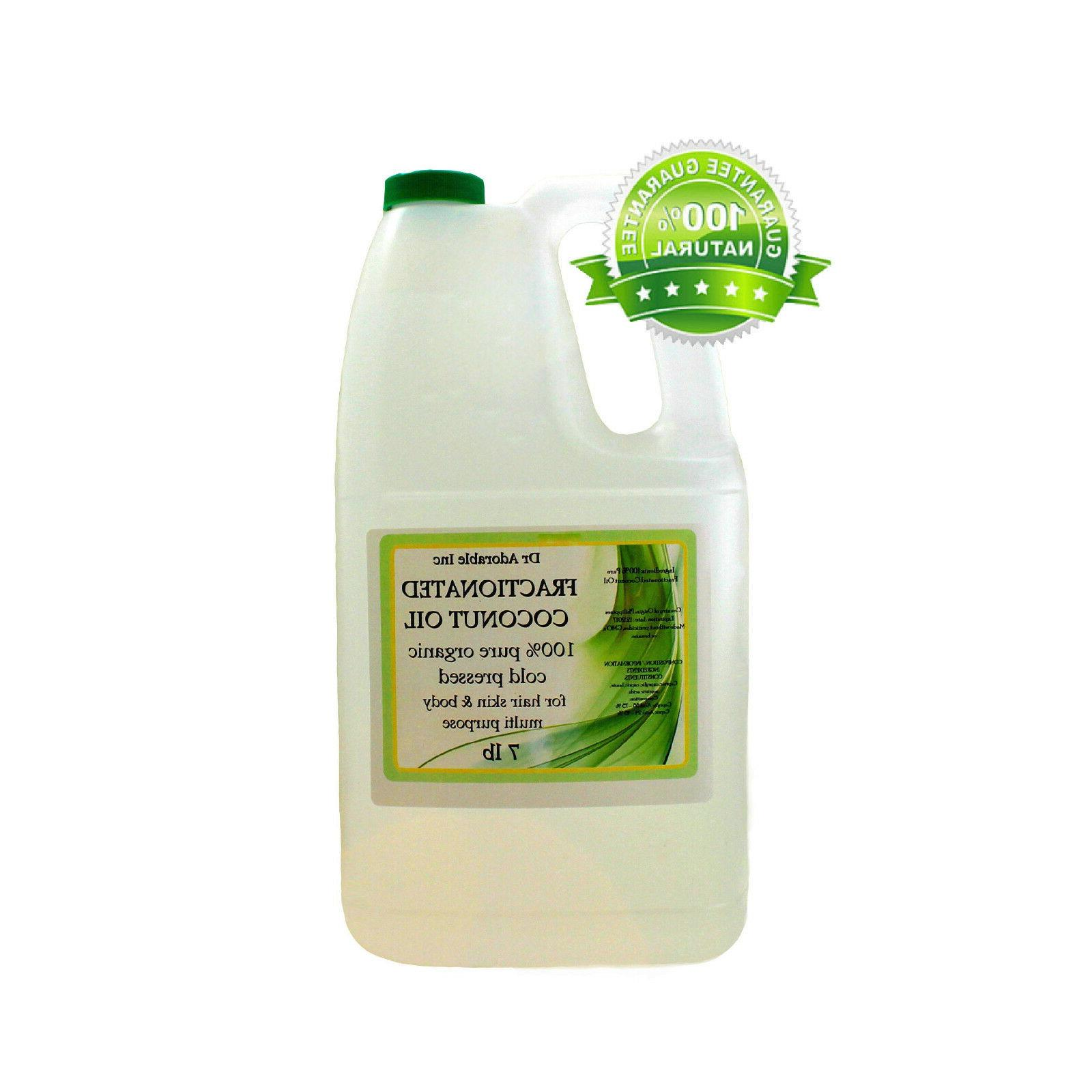 COCONUT FRACTIONATED OIL  1 GALLON /7 LB 100% PURE CARRIER O