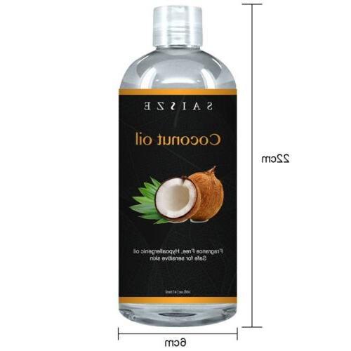 Pure Cold Coconut Oil Oil for Hair Growth, & Face Care