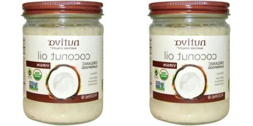 2 pack of organic superfood coconut oil