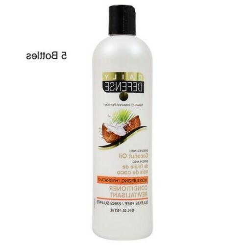 5 lot coconut oil hair conditioner 16oz