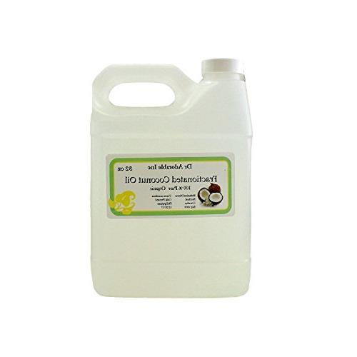 Fractionated Coconut Oil Pure Organic Raw by Dr.Adorable 32