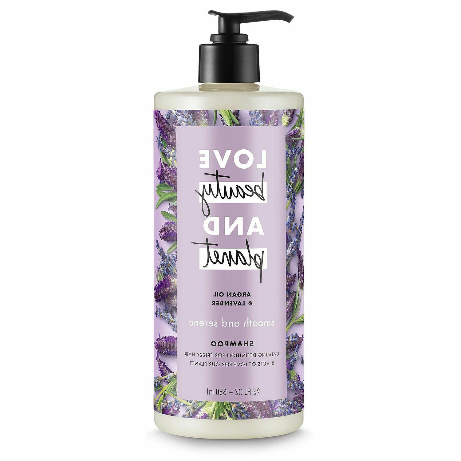 LOVE Beauty and Planet Argan Oil & Lavender Shampoo, 22 FL O
